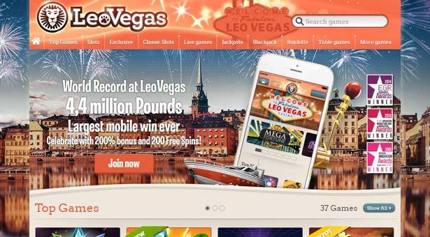 LeoVegas Casino Joins Playtech Open Platform