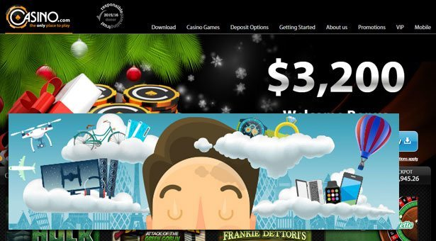 Cash for a Year at Casino.com