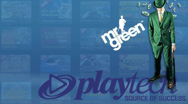 Mr Green Will Integrate Playtech's Open Platform