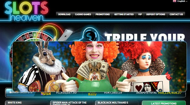 Mad March Promotion at Slots Heaven Casino
