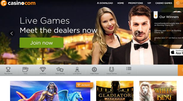 Casino.com Rebrands with New Look