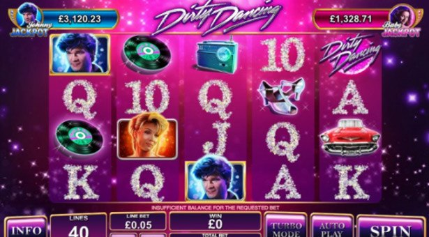 Playtech Launches Dirty Dancing Progressive Slot