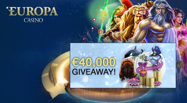 €40K Cash Giveaway at Europa Casino