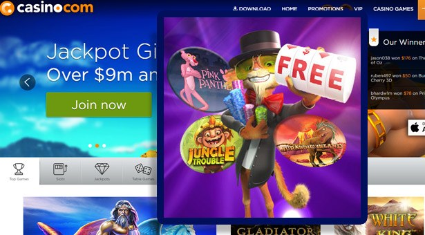 Free Spins Frenzy at Casino.com