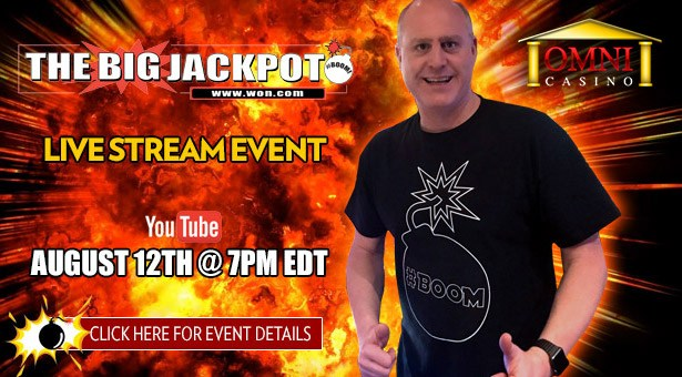 The Big Jackpot Live Stream at Omni Casino